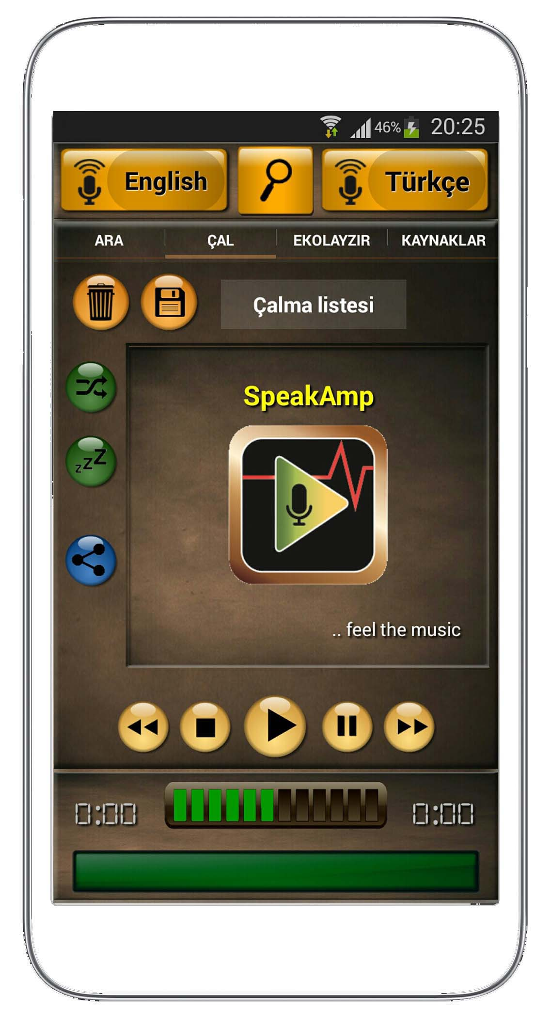 speakamp start-tr