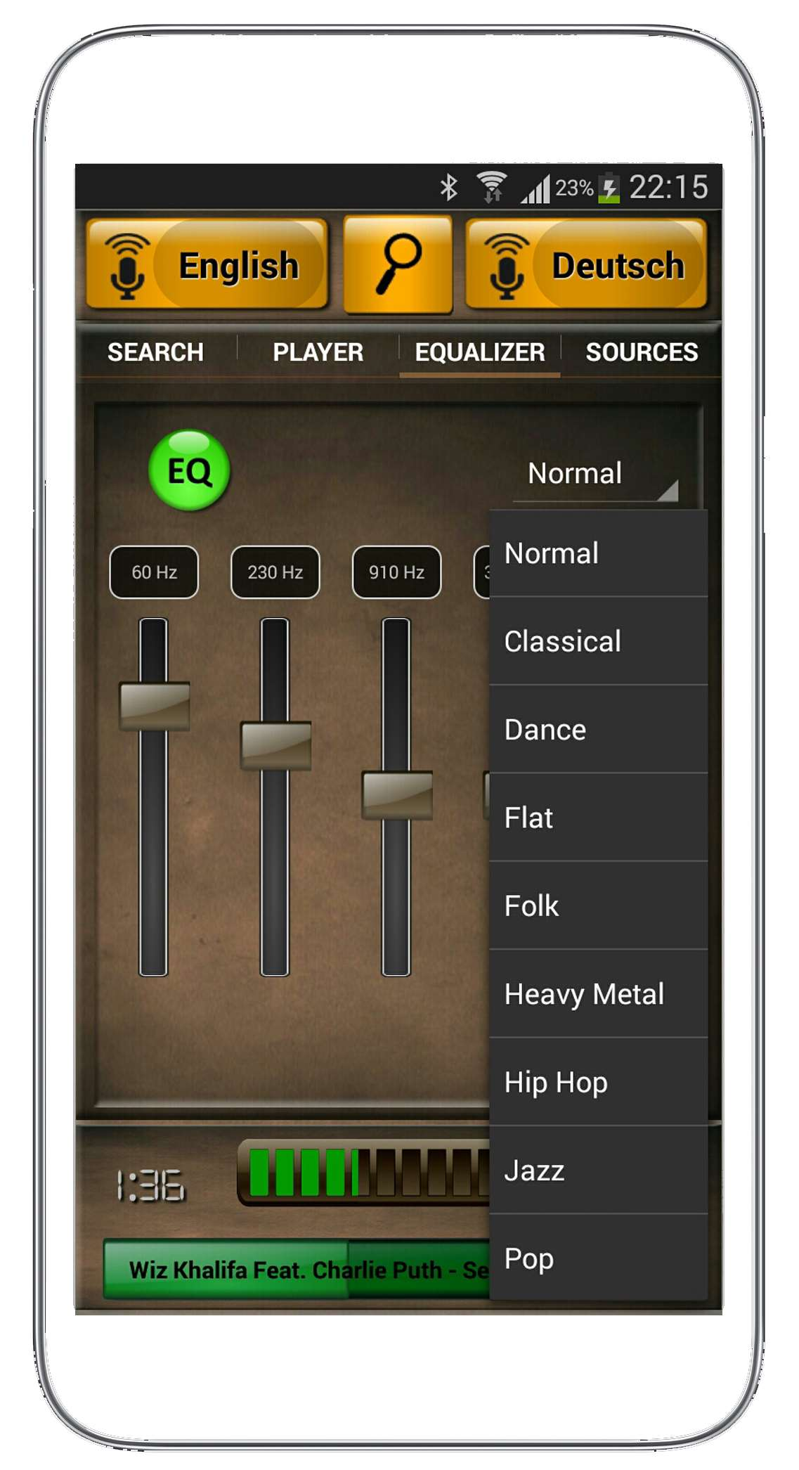 speakamp selectbox-eq