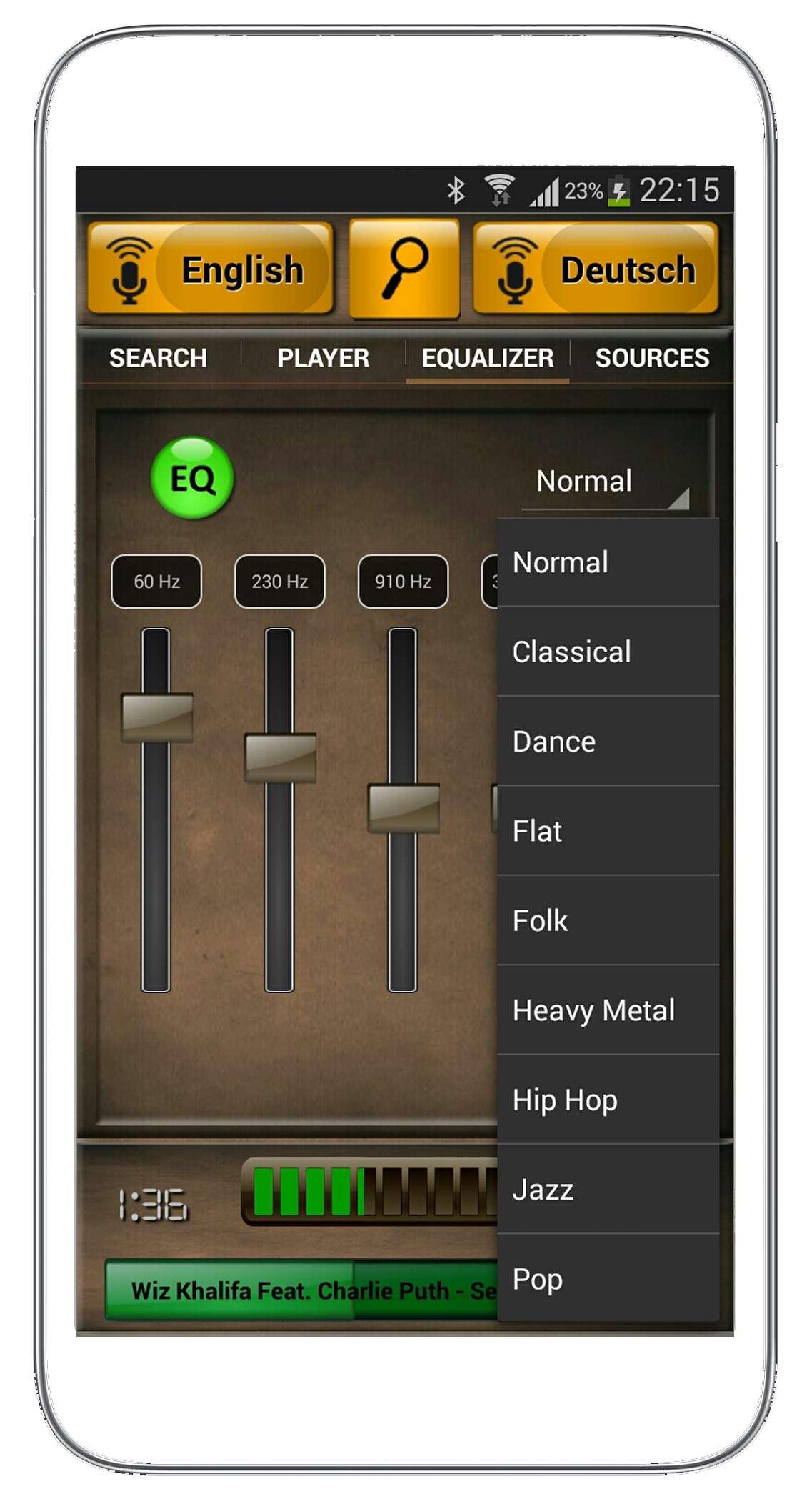 speakamp selectbox-eq